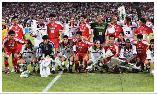 Us and Iran world cup 1998
