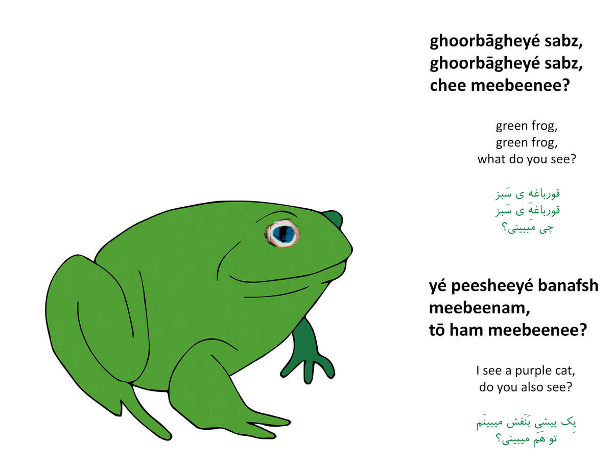 Green Frog Green Frog What Do You See