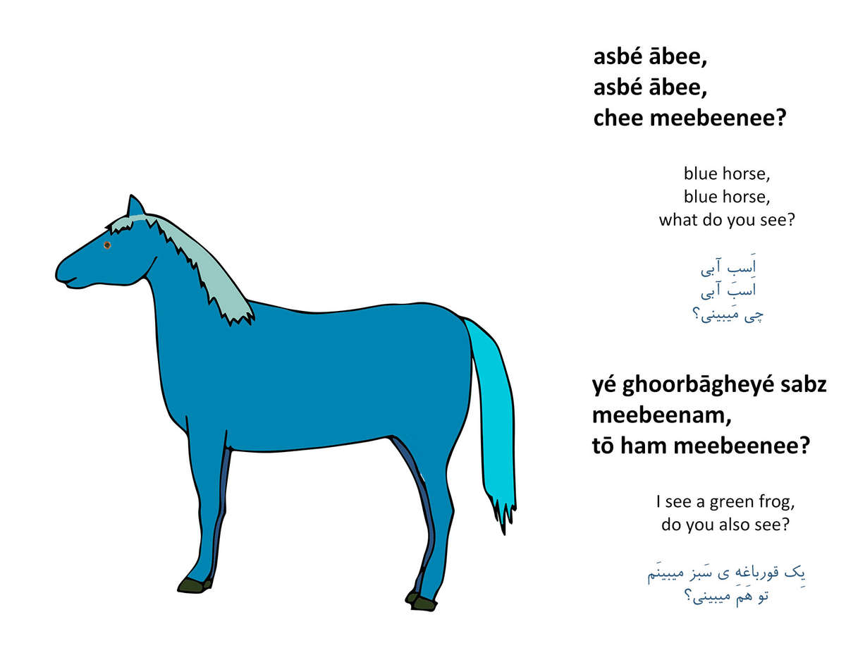 Blue Horse Blue Horse What Do You See