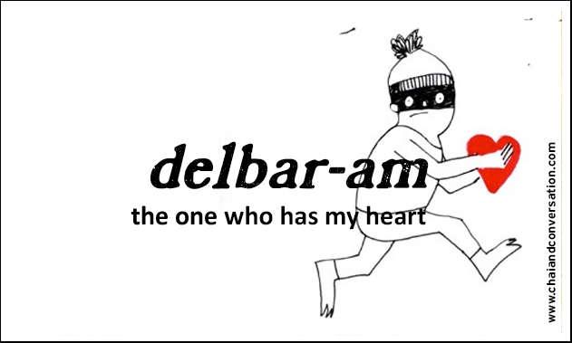 delbar-am, the one who has my heart