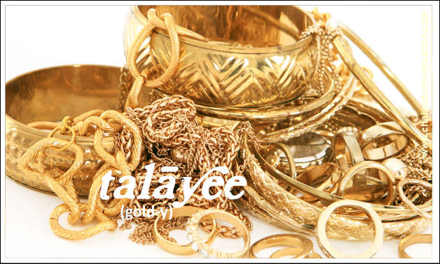 talayee, gold
