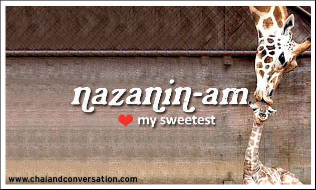 nazaninam, my sweetheart